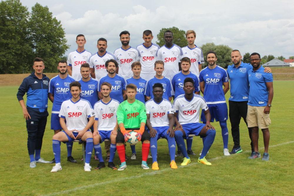 Mannschaftsfoto FCB